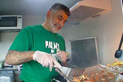 Ahmed Zaoui serves up first kebab | Newshub